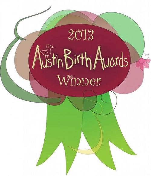 Austin Birth Awards 2013: Best Prenatal Yoga Instructor    Thank you for your support!