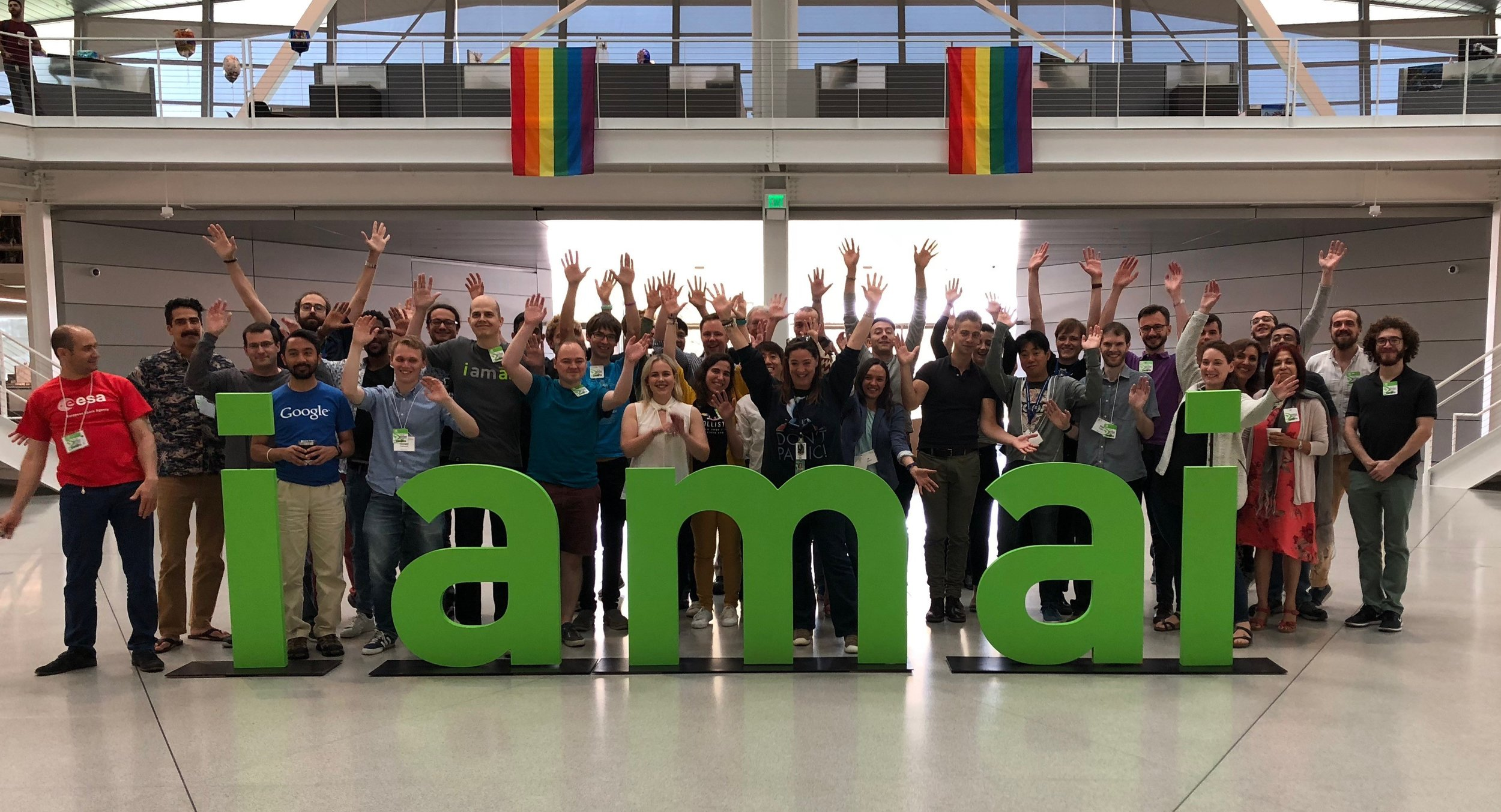 The NASA FDL 2018 team during Kick-Off week at NVidia's Endevour campus.