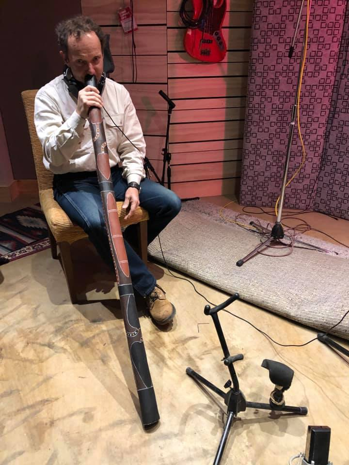 May 2019 - Southern Highlands-based singer-songwriter Graeme Clark is back in the studio recording tracks for a forthcoming CD release!