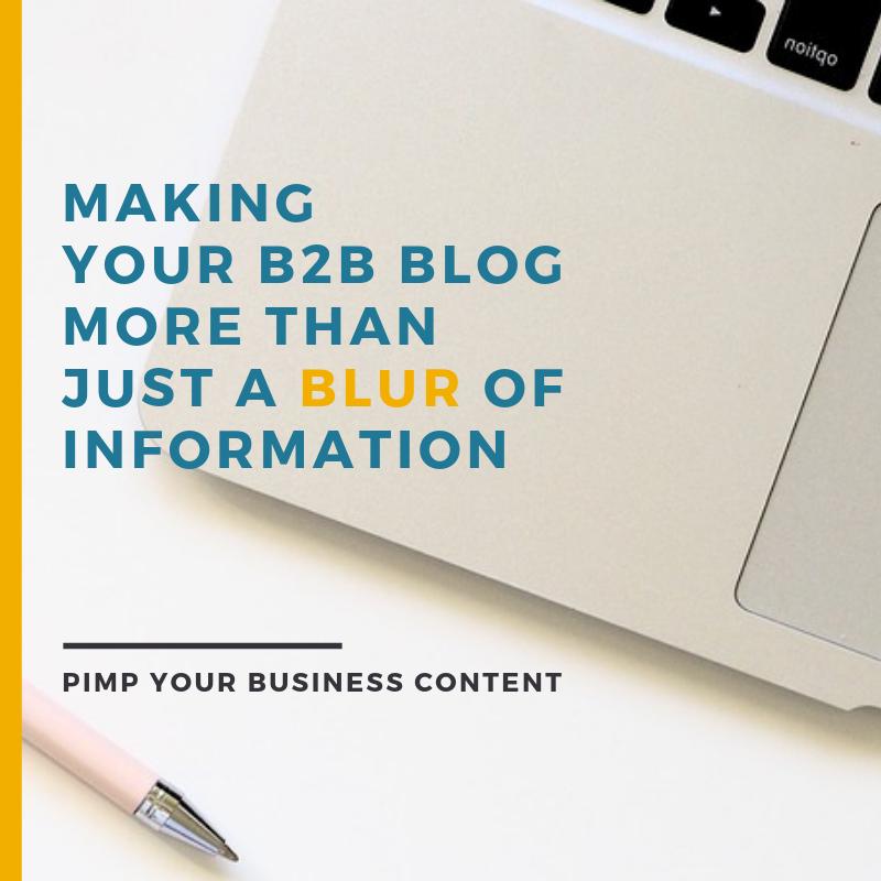 b2b blogging tips