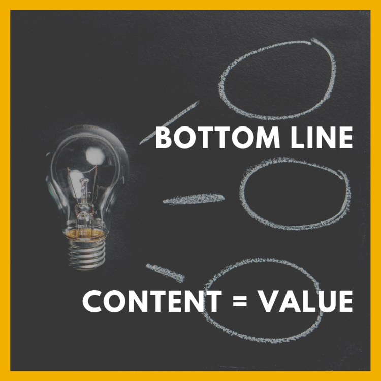 content is value