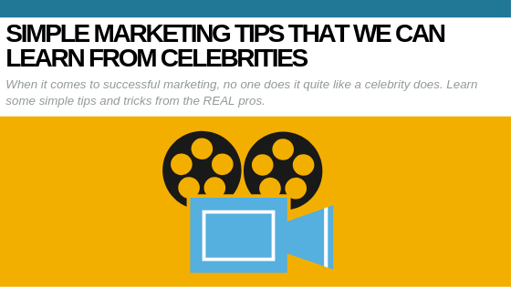 celebrity marketing tips