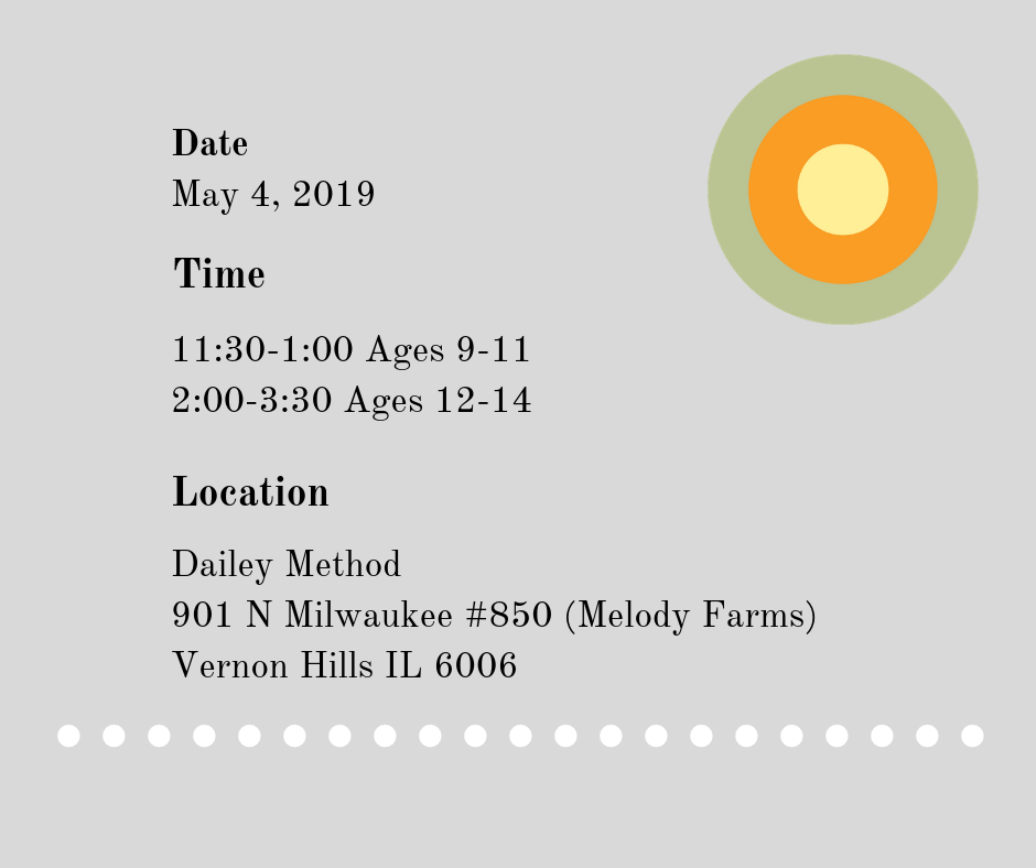 Simply Bee is pleased to partner with Daily Method in Vernon Hills