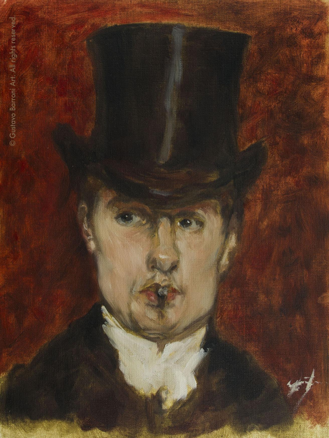 Copy of PORTRAIT DE GUSTAVE TEMPELAERE