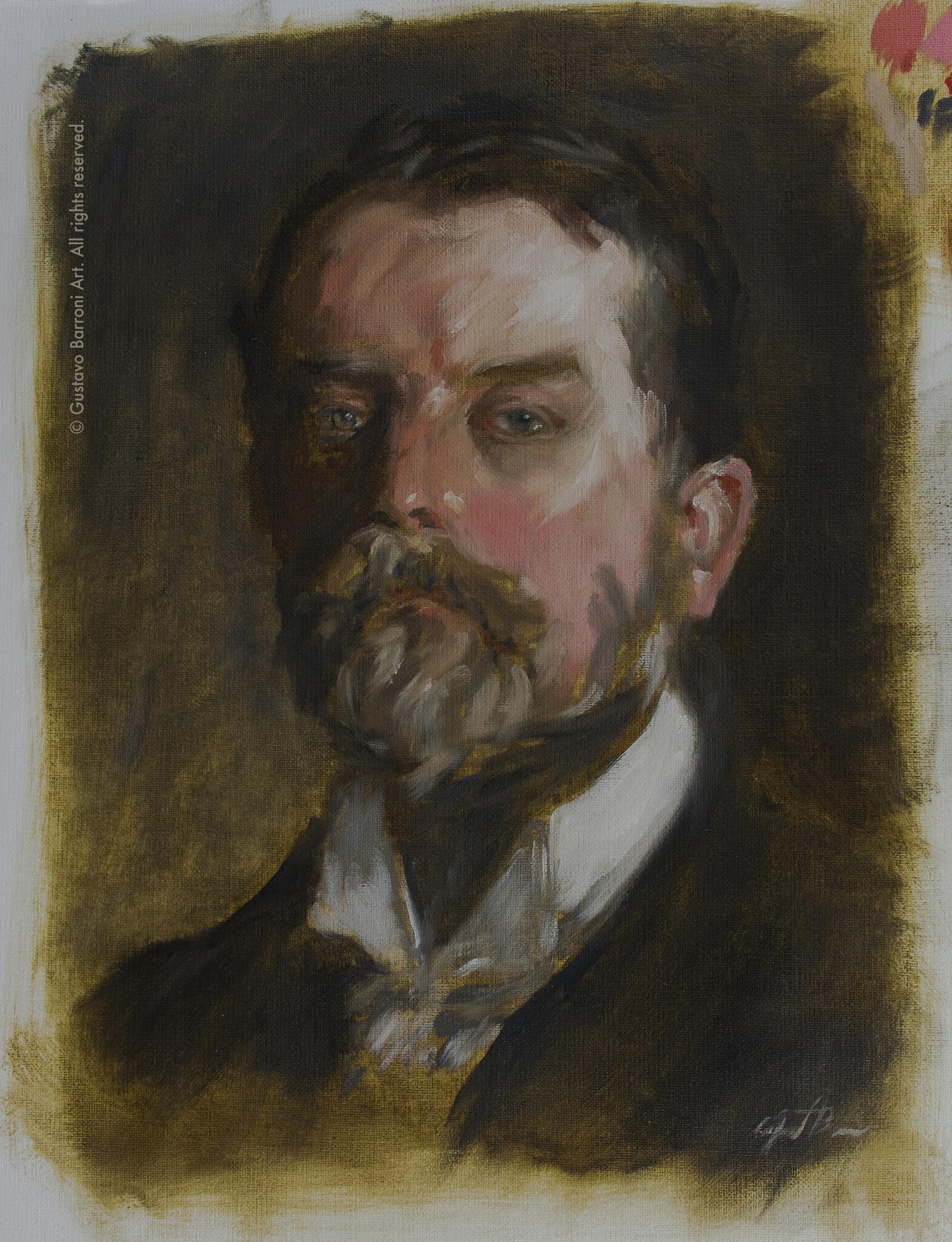 Copy of JOHN SINGER SARGENT PORTRAIT