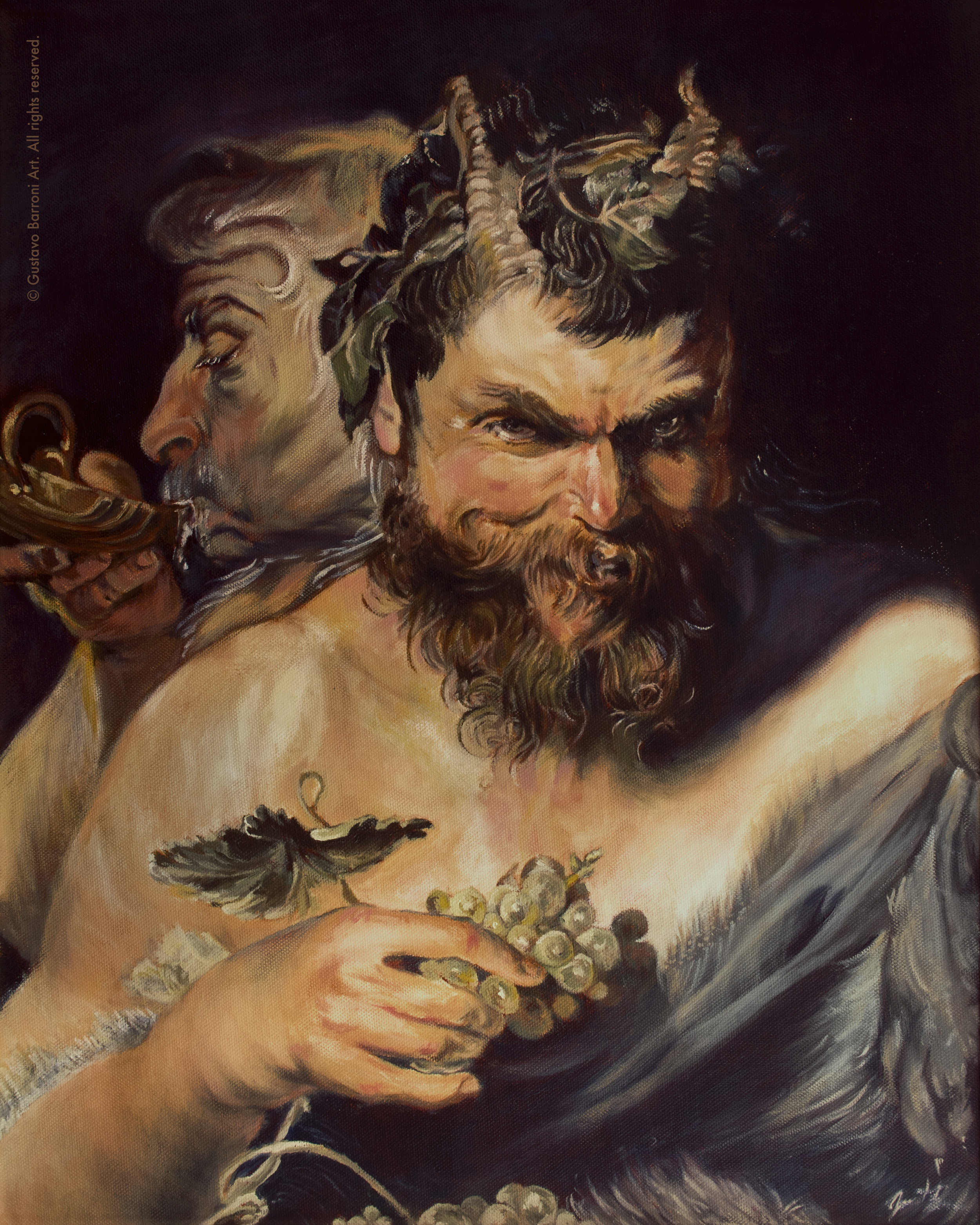 Two Satyrs