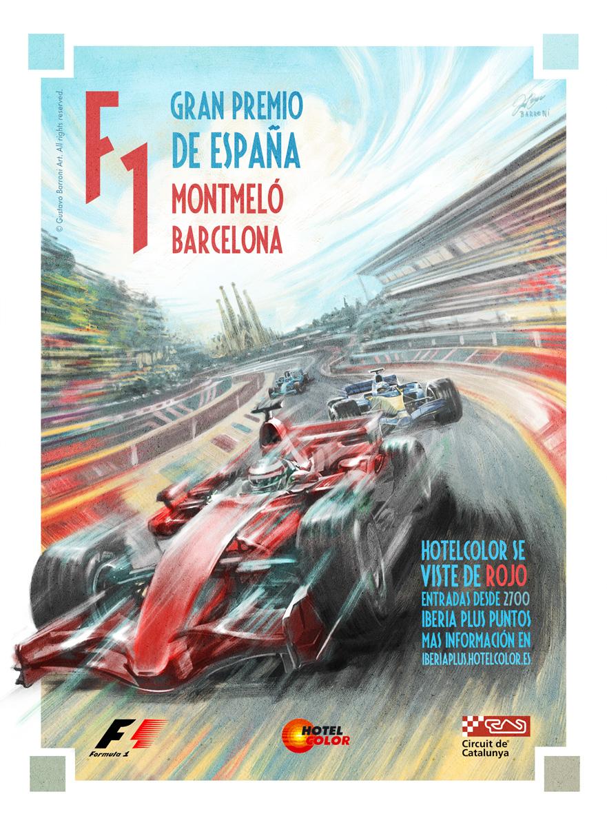 Formula 1 - Client work