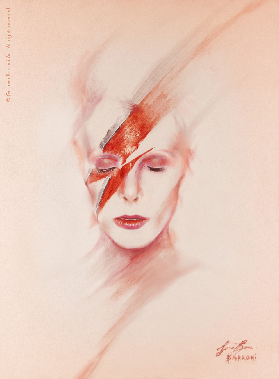 David Bowie portrait - Client work