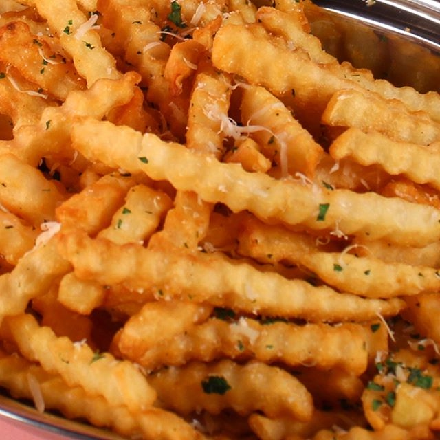 Fries for days.