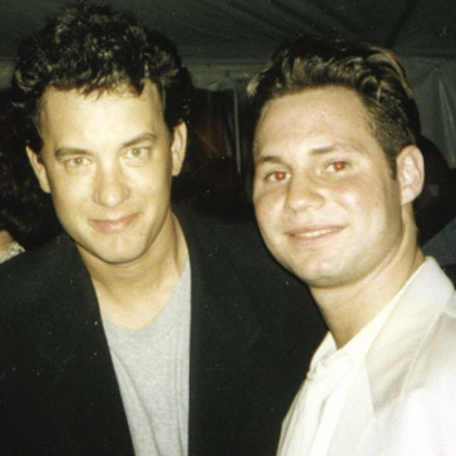 At the Premier of BIG in 1998 w/ birthday boy @TomHanks #TomHanks