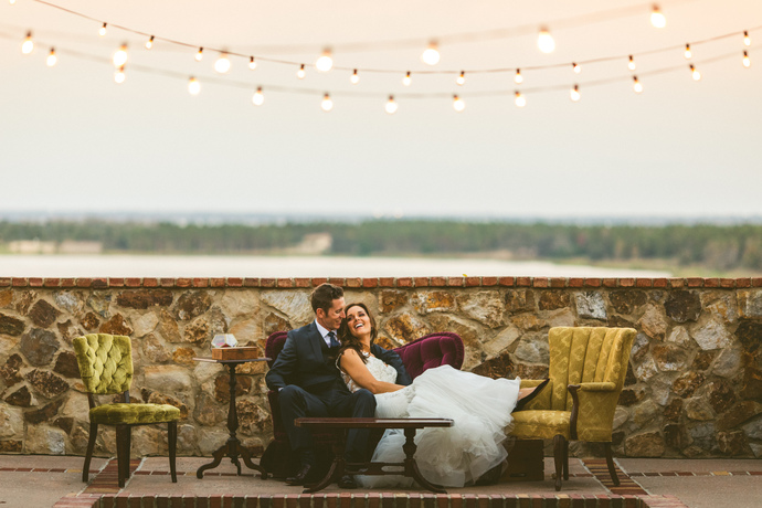 """Review from the Couple: """"The Runway Collection is absolutely breathtaking! As I sit here, I am having difficult time articulating how truly amazing their collection and styling team is. We had a jewel toned wedding and their pieces were the perfect finishing touch. It was more beautiful than I could have ever imagined. From couches, chairs, tables, suitcases, candles sticks, and tableware; you name it they have it. They save you from having to set up, clean up, and even from buying things that you would never use again after your wedding. The styling team knocked it out of the park! Every piece had the perfect home at our wedding. Our guests loved it! They are open, listen to your vision, available to give you style recommendations, help you pick pieces that best fit you, and most importantly are considerate of your budget. Thank you The Runway Collection! If I could do it all over again I wouldn't change a thing."""""""
