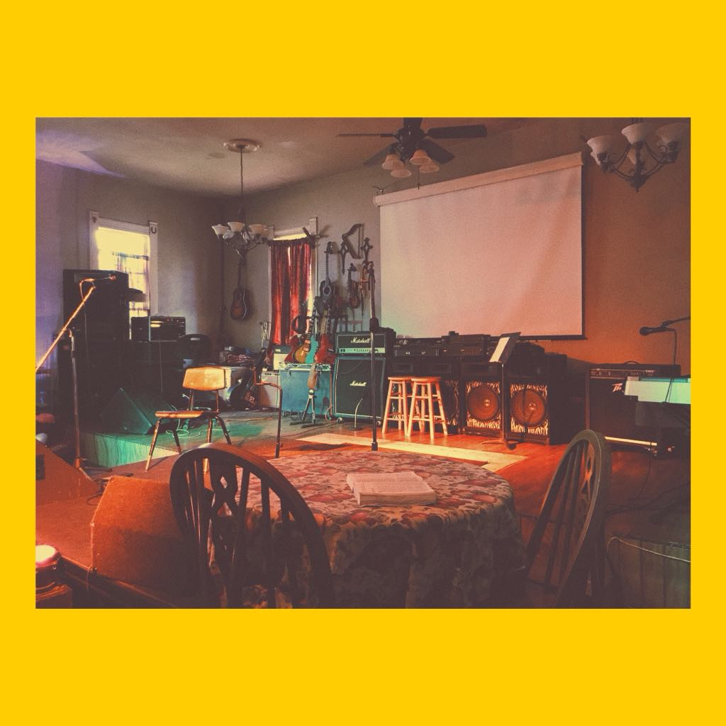 """THE CRETACEOUS CATHEDRAL - A mostly magical DIY venue + museumlocated in historic downtown Aubrey, Texas.: 50 x 12 stage area w/ 10 x 10 moveable platform: 16-24 channel """"straight up"""" analog sound: 1080p HDMI wall-to-wall projection: PAR/LED lighting, occasional mystery fog™: 120 yr-old chapel turned fossil/artifact museum: """"Uncloggable"""" gender neutral restroom*: 200 person capacity indoors: 1/2 acre outdoor space: 100% real stars and celestial object viewingBooking: mightykc@magnoliarecording.co*please do not attempt a clogging"""
