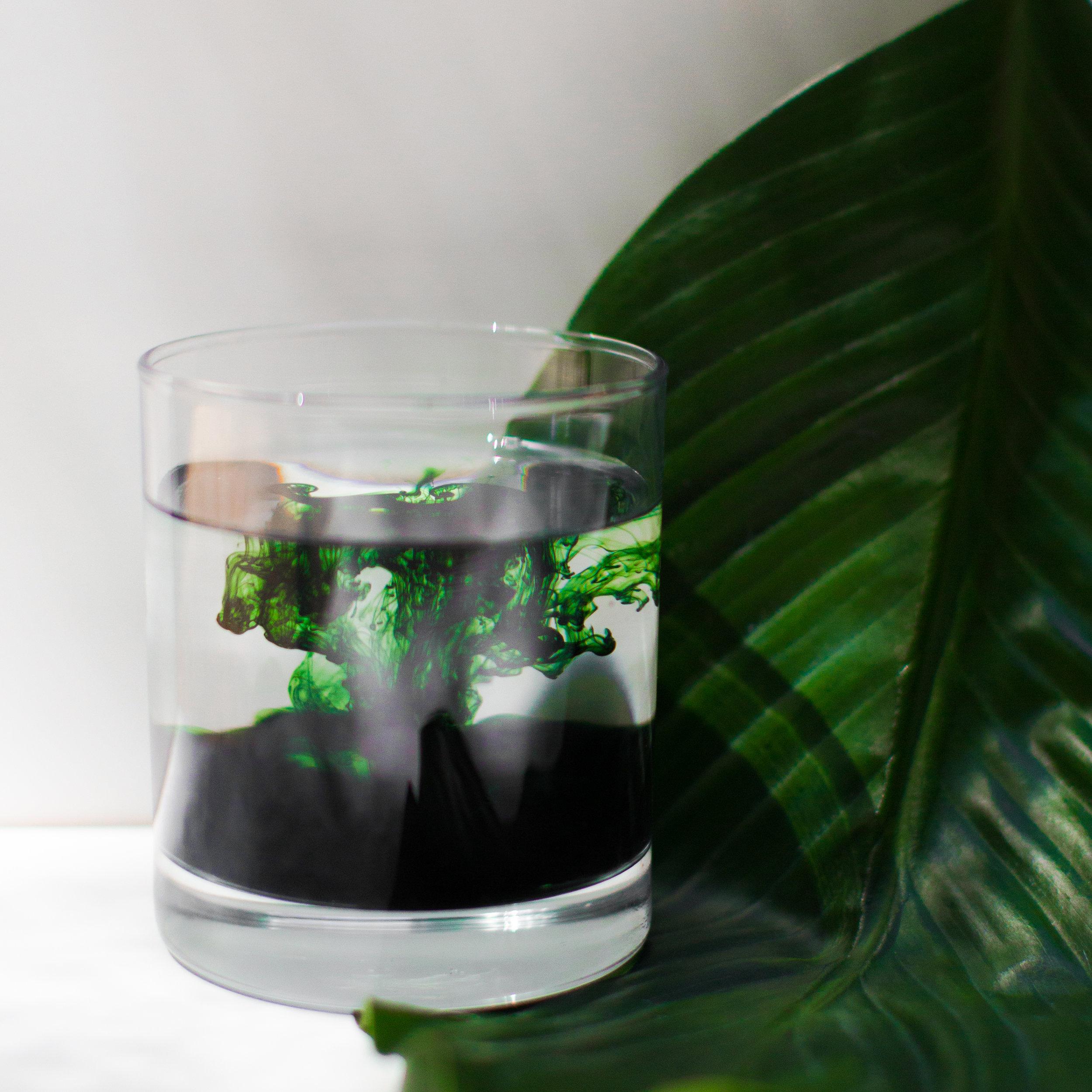 Chlorophyll Water Detox