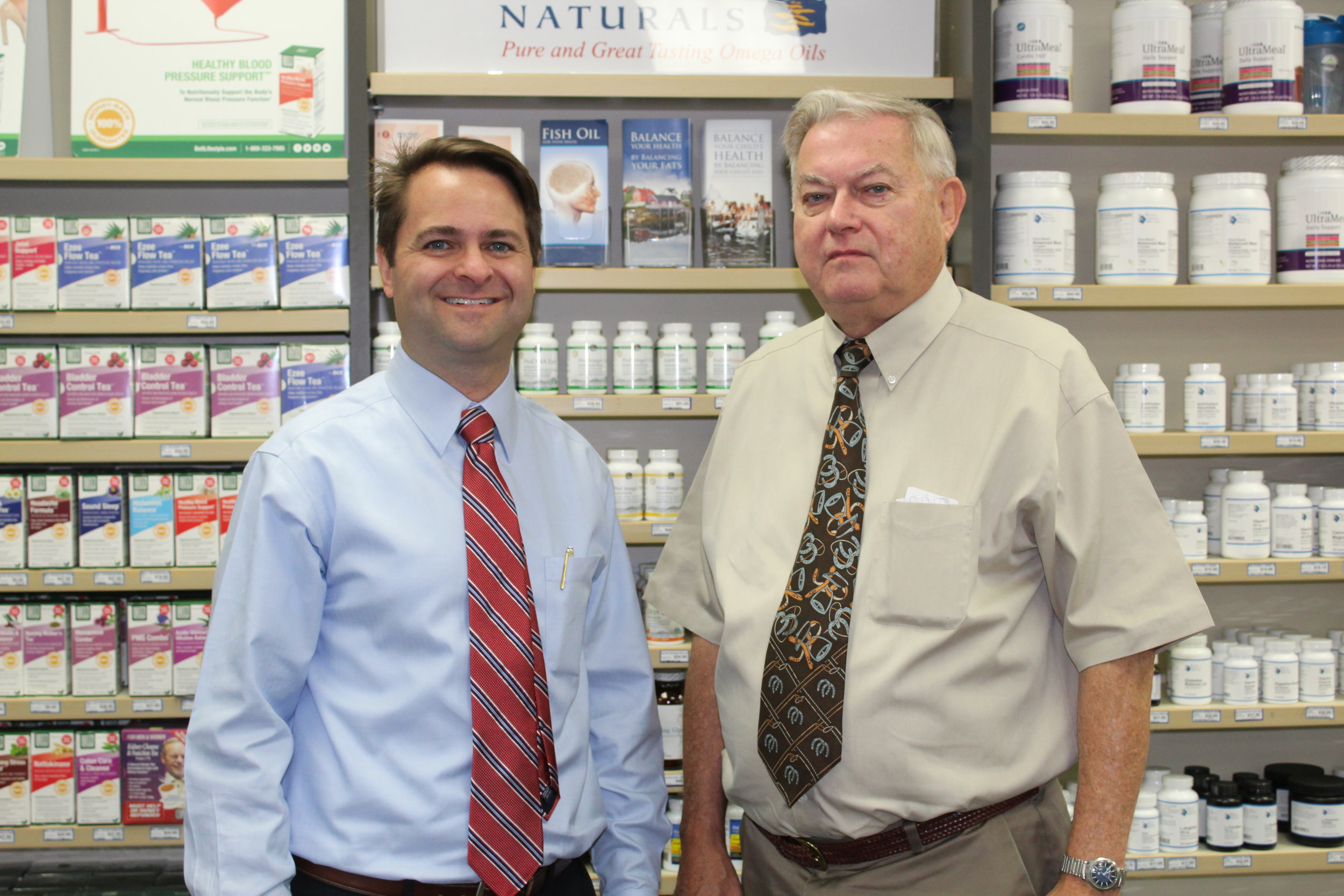 Health Matters show hosts Brad and Paul White.