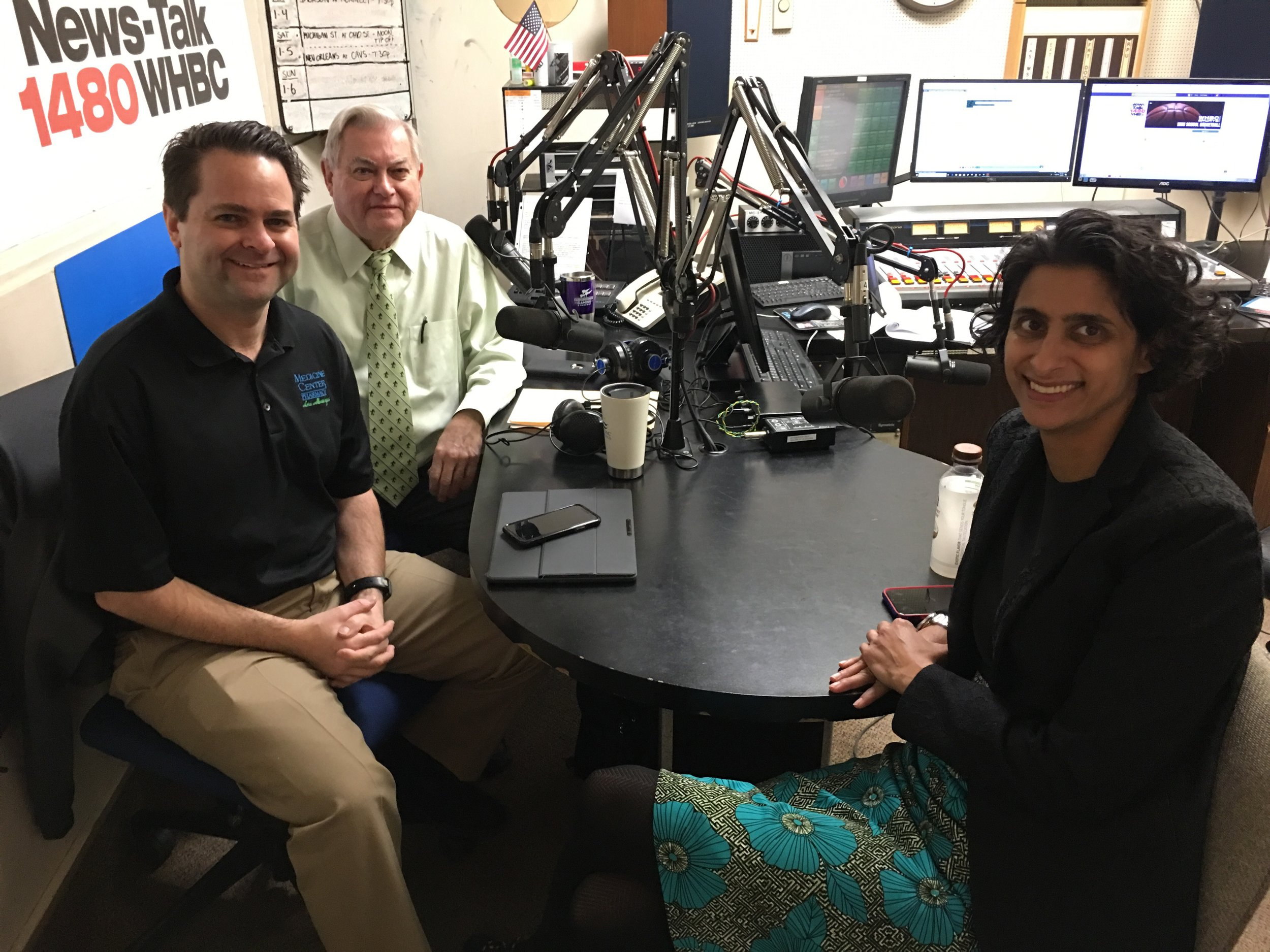 Dr. Sabrina Shilad joins the Health Matters program to talk about breast health with pharmacists, Brad White and Paul White.