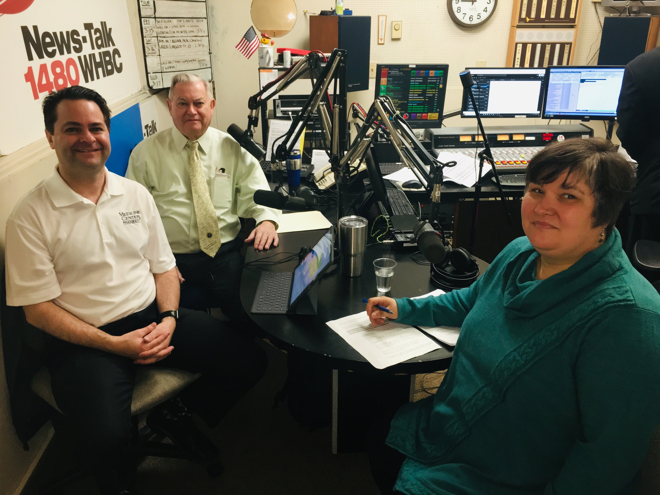 Hosts and Pharmacists Brad and Paul White talk with OhioGuidestone's Hollie Spencer Truman.