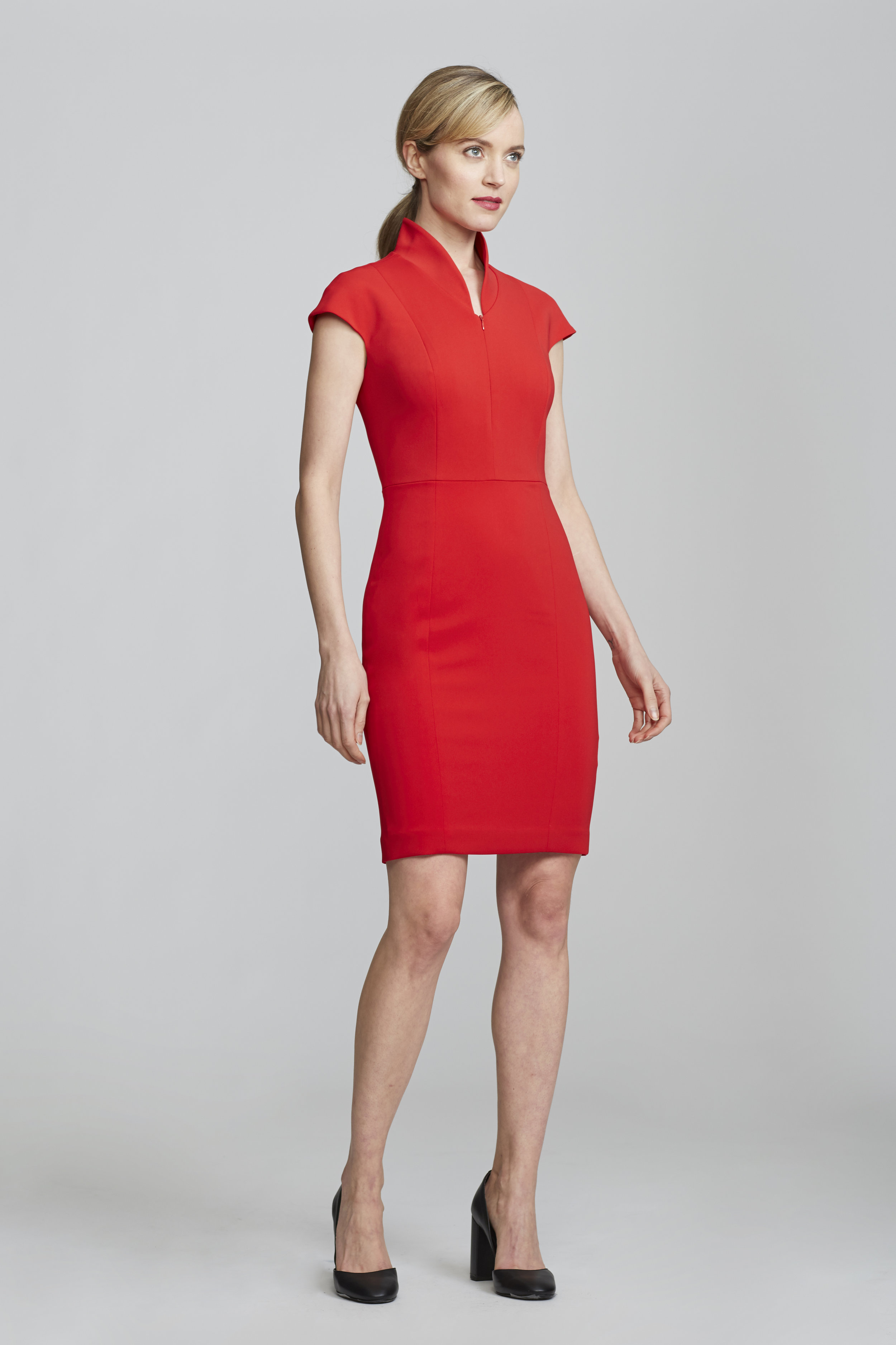 Nora Evelyn Dress Red - Get yours here