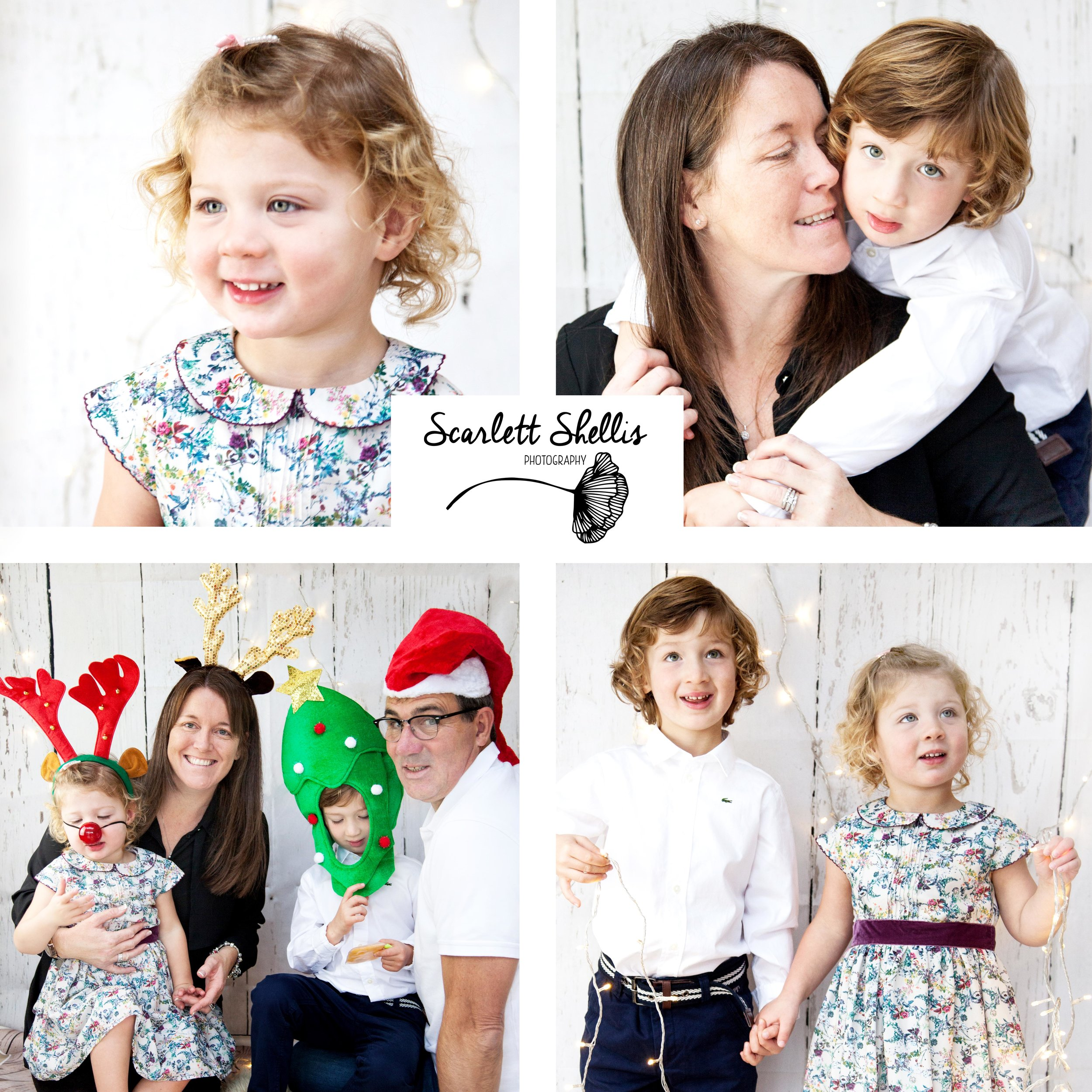 A little collage I made from my Christmas shoot with Lorna and her beautiful family.   Gabriel and Eleanor know me well enough now to have cuddles and playtime in between taking photos! Always a pleasure to do a photoshoot with them all.