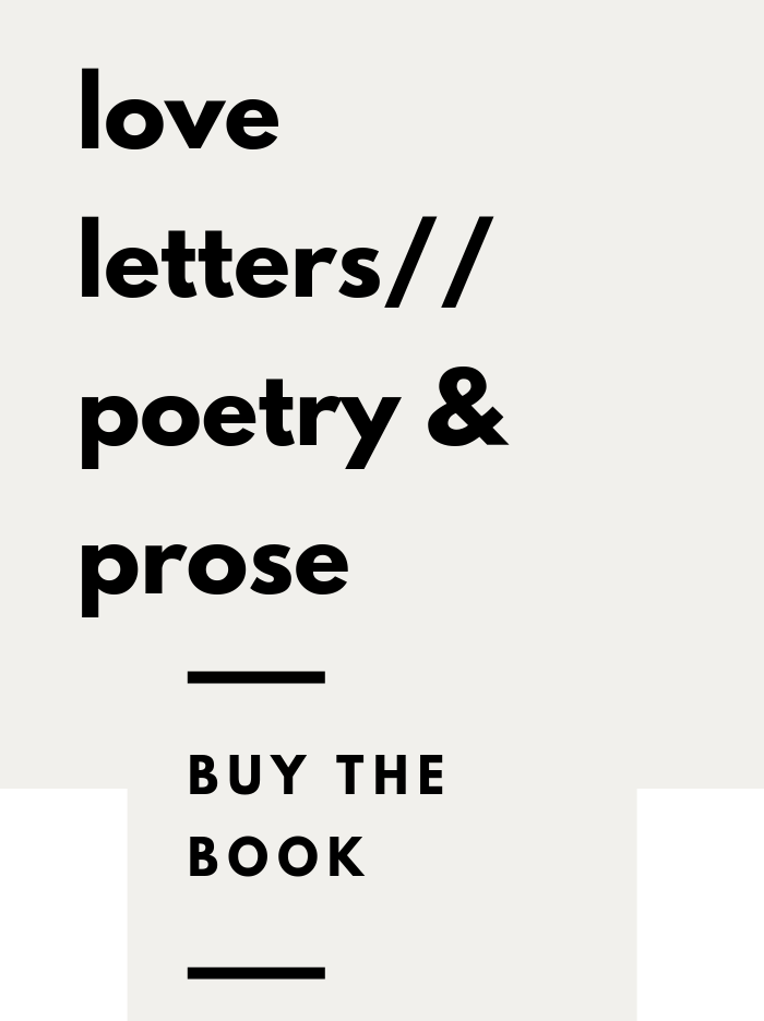 love letters//poetry & prose
