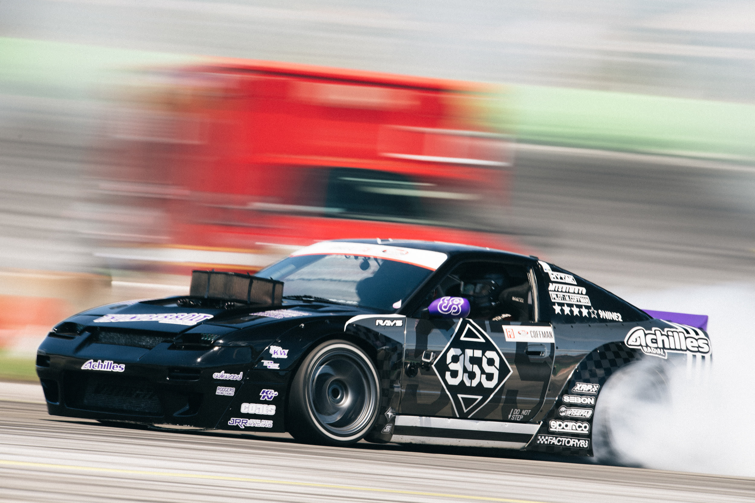 Last weekend, the Coffman Racing team headed to Orlando, FL for Round Two of the Formula Drift Championship.The weather in Orlando was surprisingly nice this year as it never rained or got too hot and humid.