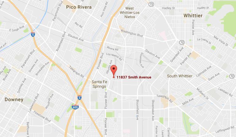 LOS ANGELES AREA (HEADQUARTERS)   11837 Smith Avenue  Santa Fe Spring, CA 90670  Office (888) 477-3370