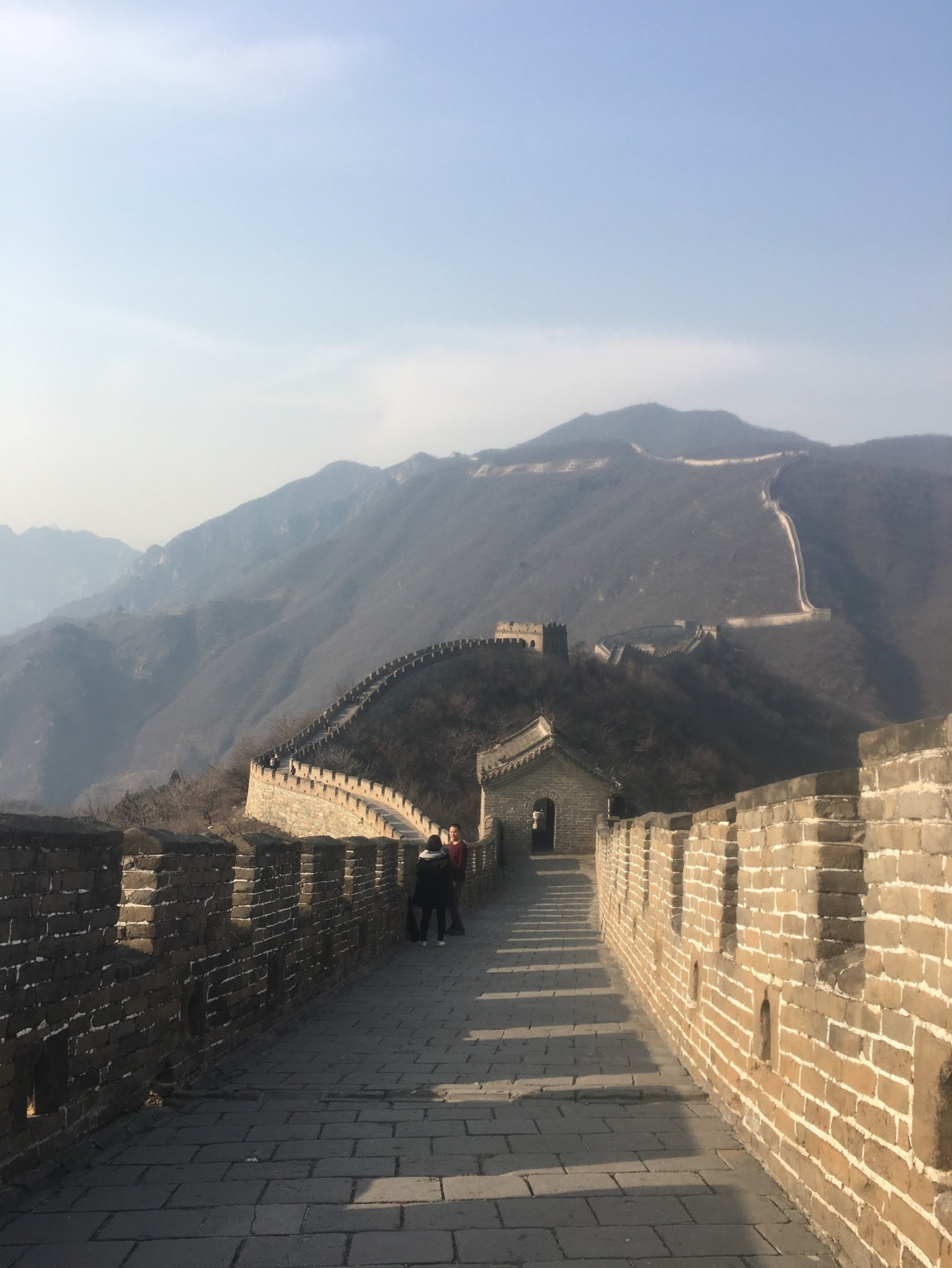 A trip to the Great Wall of China