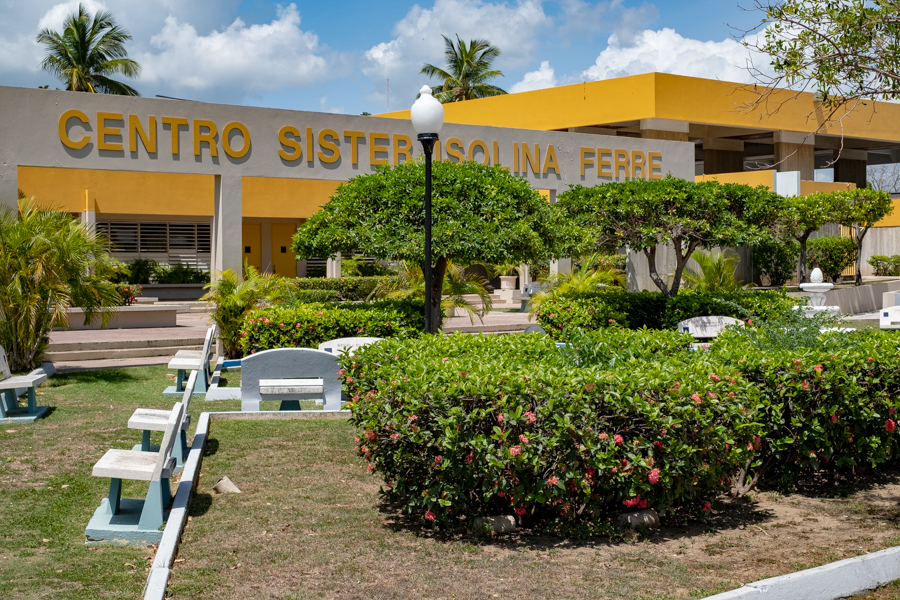 The main campus of the Centros Sor Isolina Ferré in Ponce