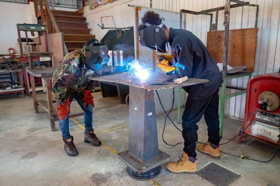 Learning the art of welding