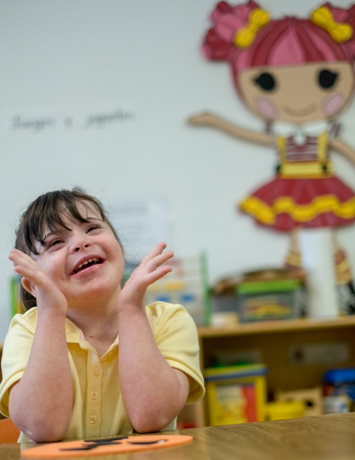 Children with special needs are provided individual attention.