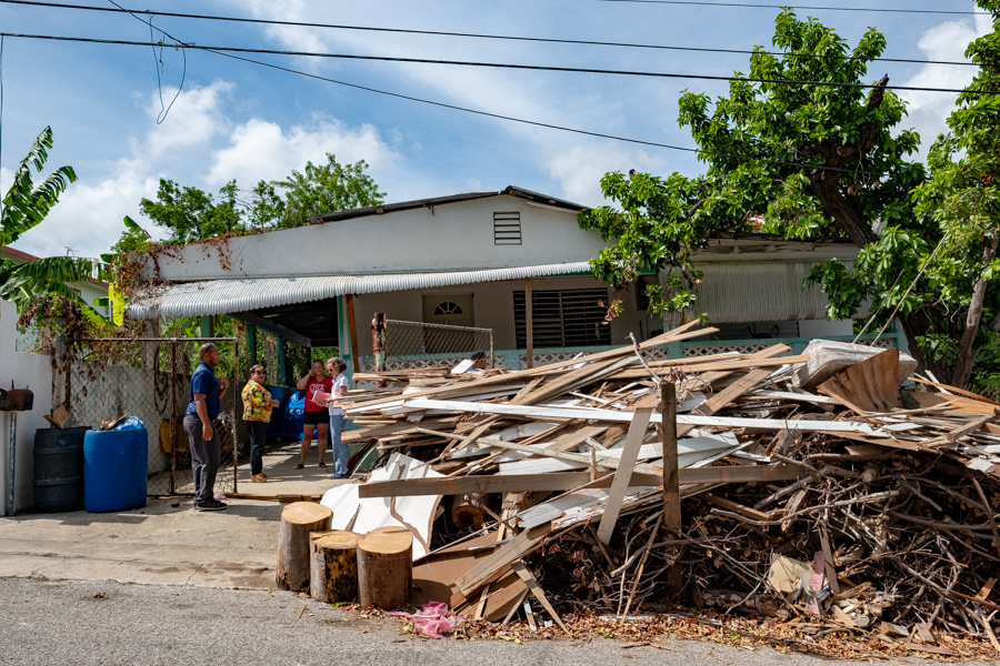 One year after Hurricane Maria, the cleanup continues unabated