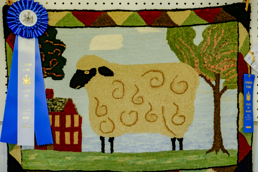 Blue Ribbon Sheep