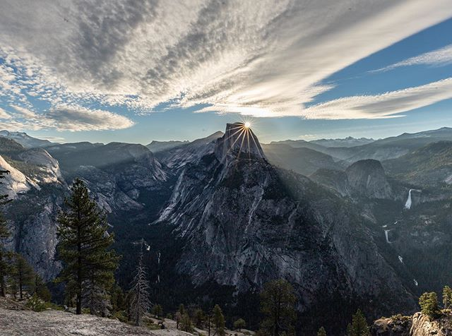 If there was ever heaven on earth, this would be a glimpse. Truly one of the most beautiful things I've ever seen below 10,000 feet. Tremendously grateful that I said yes to the #pnwphotographerroadtrip and this moment for myself.  #yosemite #halfdome #landscapephotography #pnwphotographer #westcoastroadtrip #westcoast #californiaelopementphotographer #californiaadventurephotographer #adventurelifestylephotographer #issaquahphotographer #seattlelifestylephotographer #outdoorlifestyle