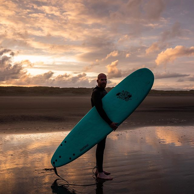 Surfed into Sunday's sunrise out of @logecamps last weekend. #bucketlist
