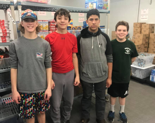 These amazing boy scouts have continued to volunteer at Cocoa Packs once a month since 2015.