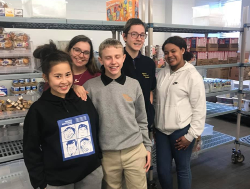 These awesome students from Milton Hershey School chose to volunteer at Cocoa Packs!