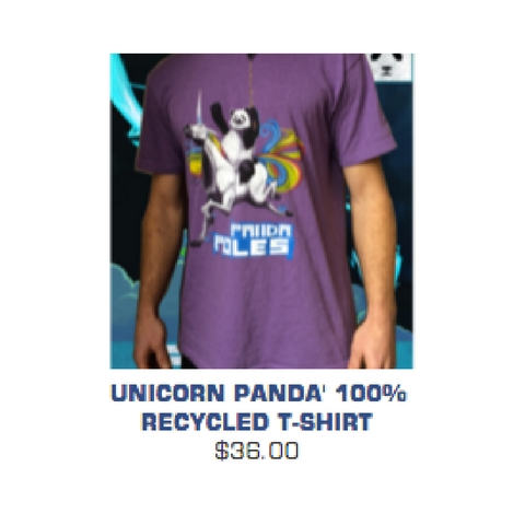 Panda poles shirt