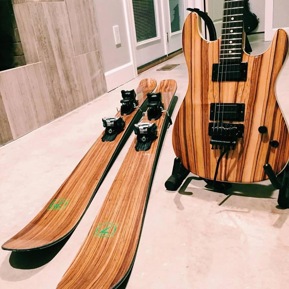 Handmade skis - Seven Skis