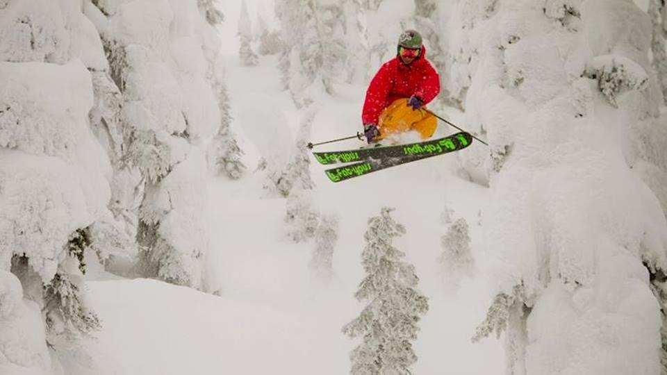 Handmade skis Fat-ypus skis