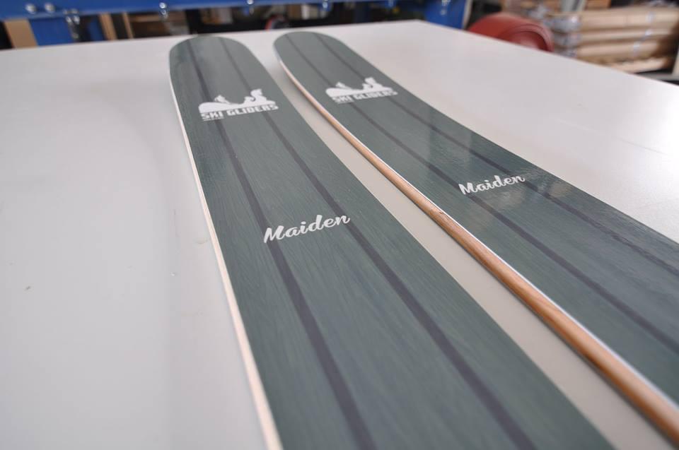 Handmade Skis - Maiden Skis