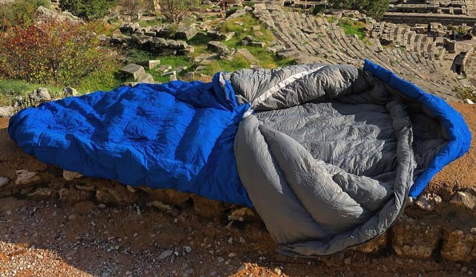 Nozipp sleeping bag