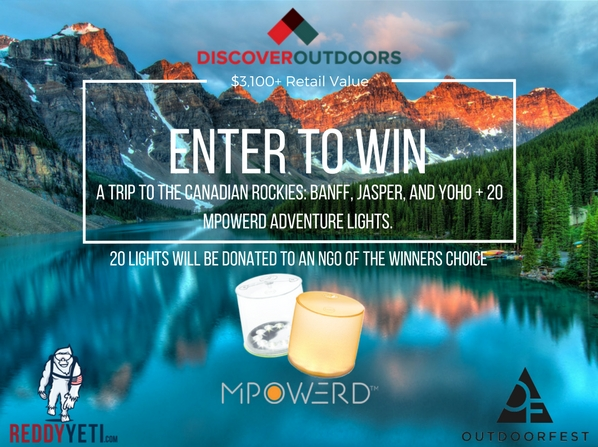 Discover Outdoors + Mpowerd Giveaway