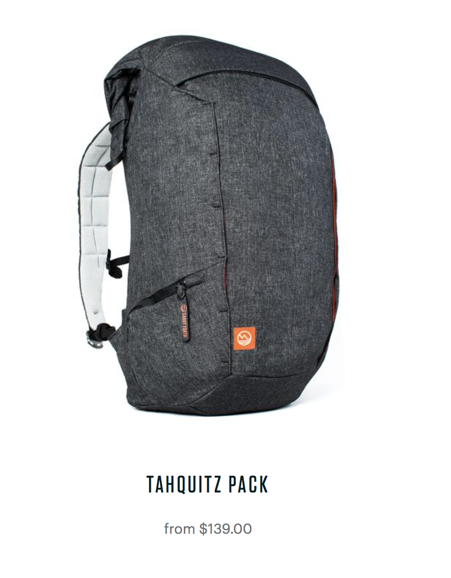 Tahquitz Pack Be Outfitter
