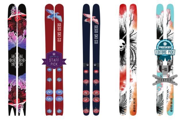 Sego Skis product line
