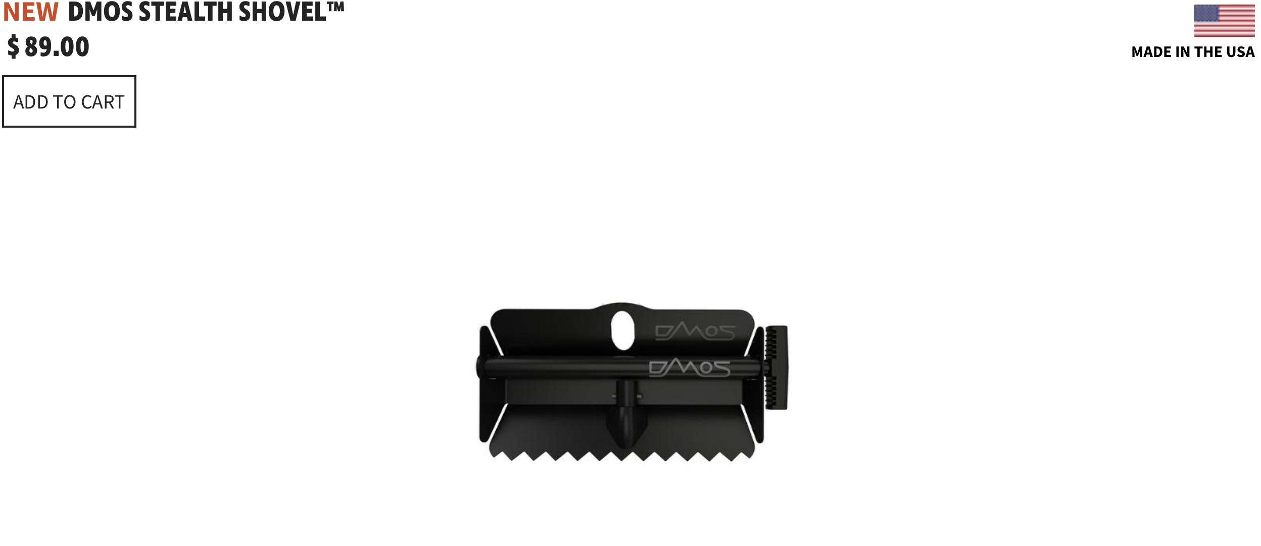Dmos Collective Stealth Shovel