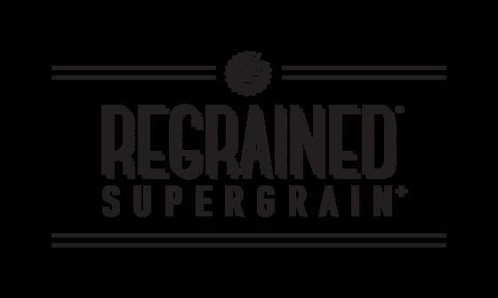 Regrained logo