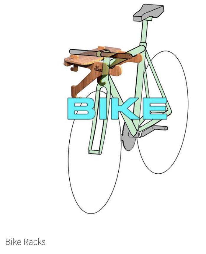 Grassracks bike rack