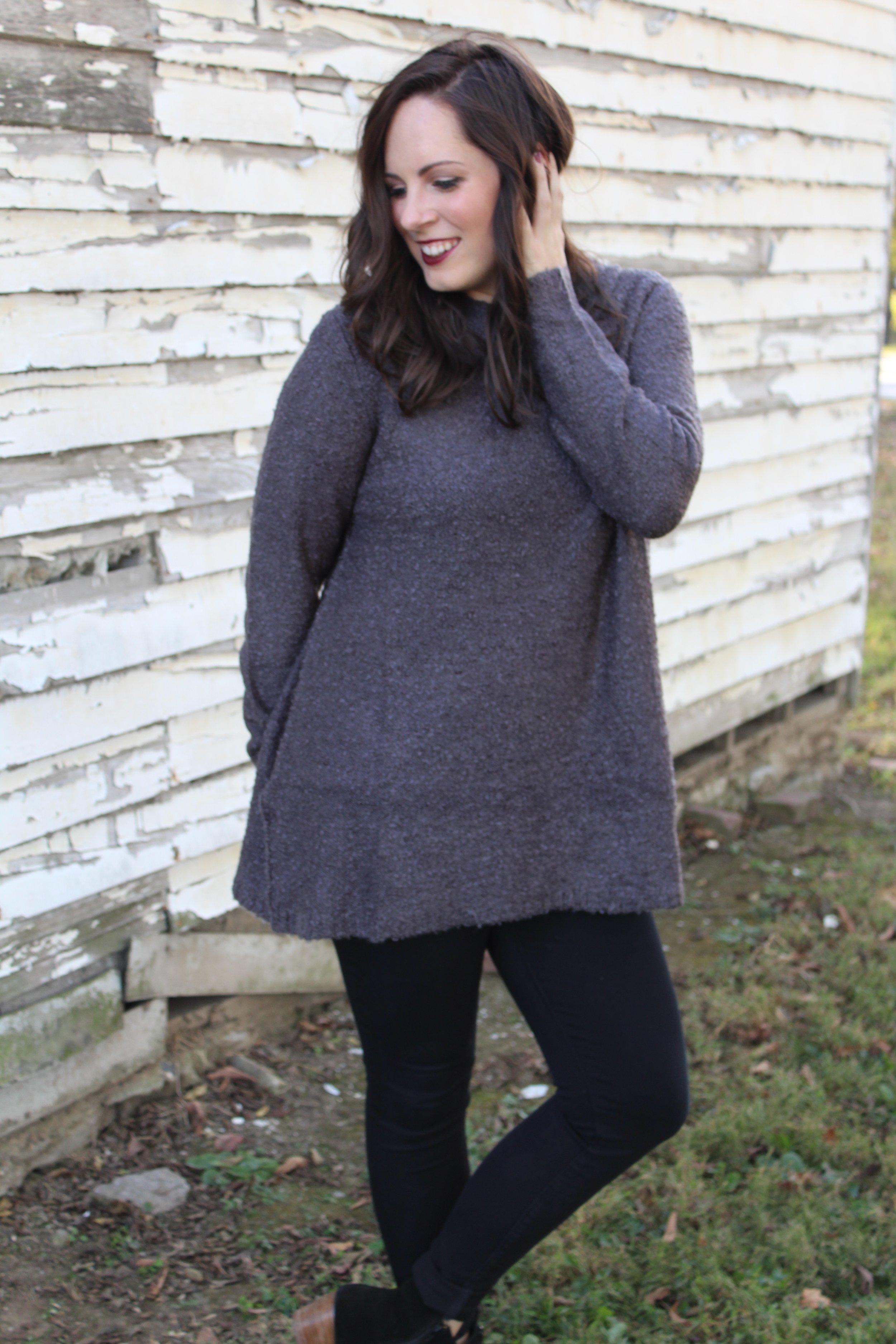 PHOTO: ASHLEY WILSON  Maya Sweater:  Everest & Co.