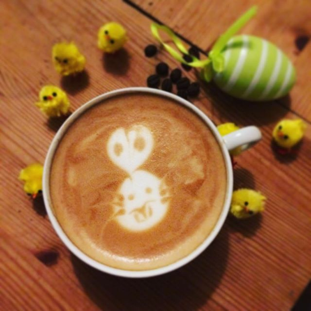 The coffee's all Eastery and #delicious this morning🐇👉☕️👌👉😋 ⠀ #easter #Coffeeseur #LejEnBarista www.coffeeseur.dk #Copenhagen #København ⠀ #Flatwhite #Latte #Latteart #Espresso #Coffee #Coffeetime #Coffeeaddict #Coffeeshop #Coffeelover #ButFirstCoffee #Coffeelove #CoffeeIsLife #Coffeebreak #Barista #Coffeebean #BaristaLife #Coffeeoftheday #Cafe #Cuppuccino #Barasso #CaffeineAddict #CoffeeShots #ILoveCoffee #Instacoffee ⠀
