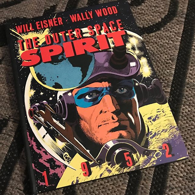 Got hooked up at Drink and Draw by my old pal Keifus. #willeisner #wallywood #thespirit 