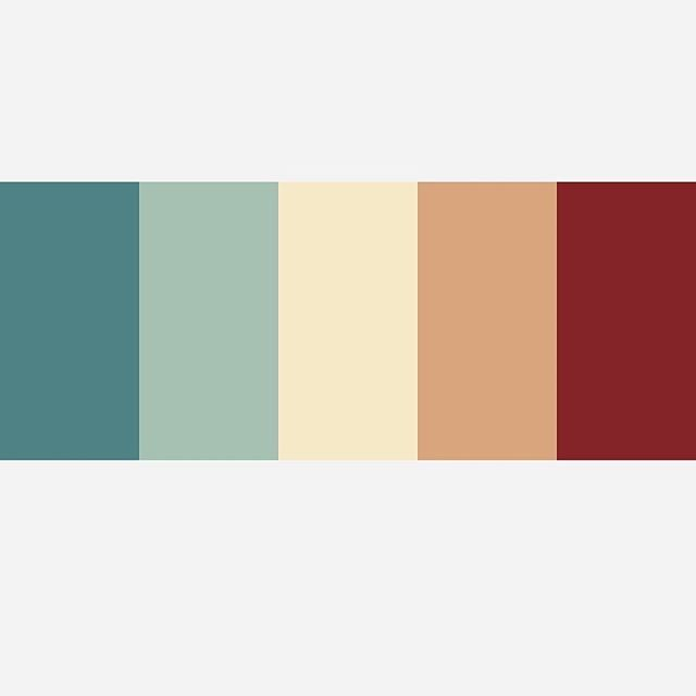 Some nice colors I picked out for a project.
